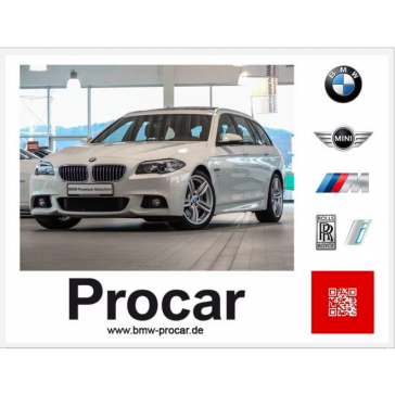 BMW 535d Touring M Sportpaket 2015
