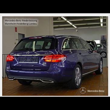 Mercedes-Benz C 250 BlueTEC T-Modell AVANTGARDE 2015 Achteraanzicht