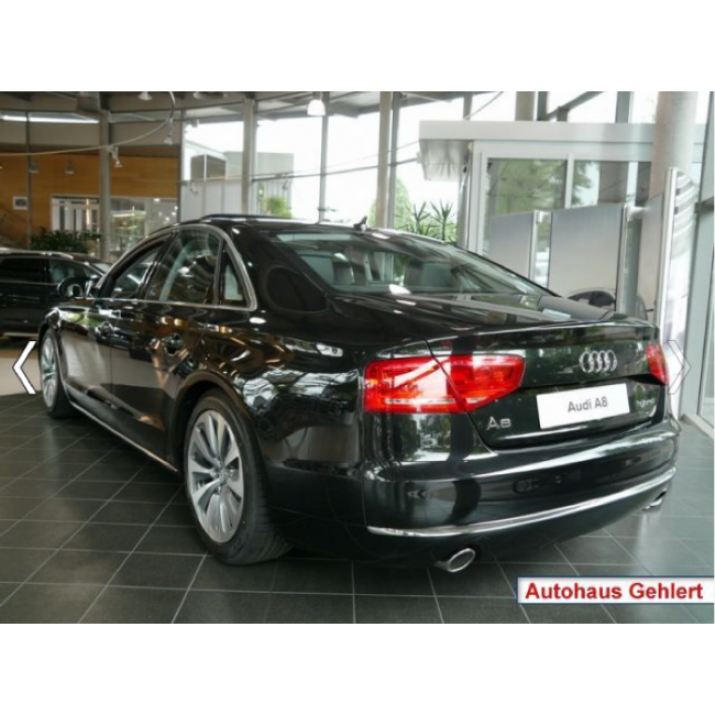 2013 Audi A8 Interior: Audi A8 On 24s
