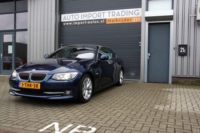 Import auto BMW 330D Cabriolet