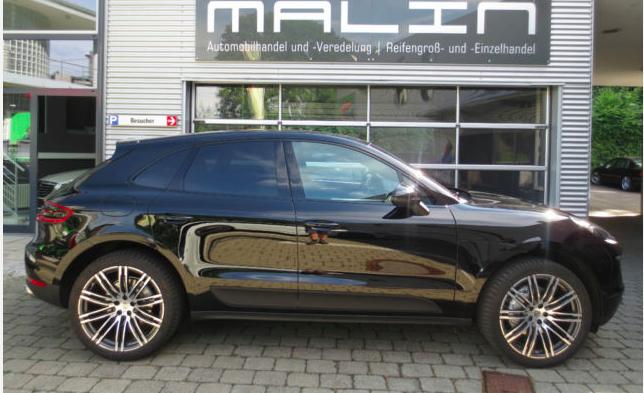 Porsche Macan Importeren