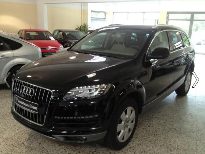 Audi Q7 3.0 TDI importeren