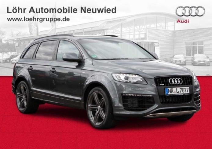 Import auto Audi Q7 3.0 TDI DPF quattro