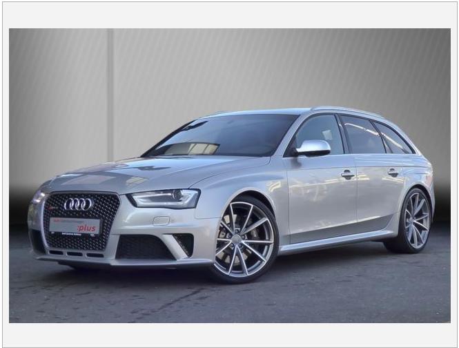 Audi RS4 Avant S tronic