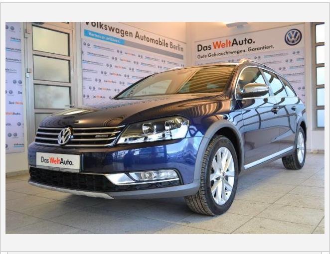 VW Passat Variant Alltrack 2.0 TSI 2014 importeren uit Duitsland