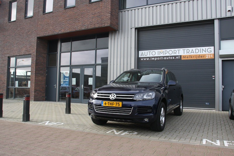 VW Touareg 3.0 tdi 2012