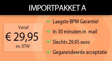 Auto Importpakket A