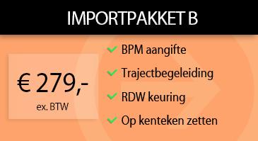 Auto Importpakket B