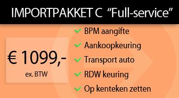Auto Importpakket C